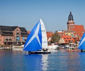Segelschiff auf der Müritz bei Waren - Urlaub in einer Ferienwohnung